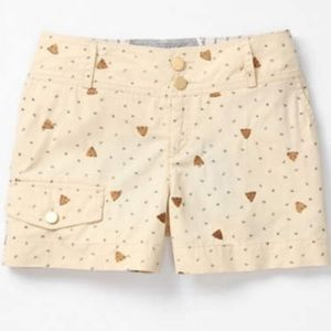 Anthropology Bee Hive Shorts Size 6